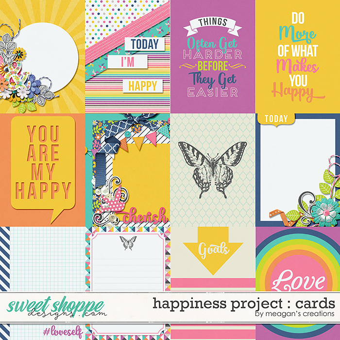 Happiness Project : Cards by Meagan's Creations