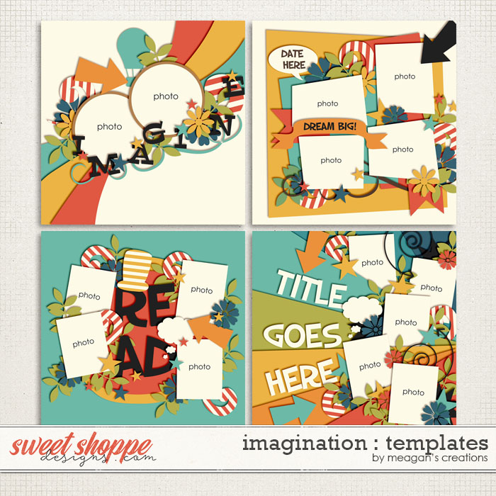 Imagination: Templates by Meagan's Creations