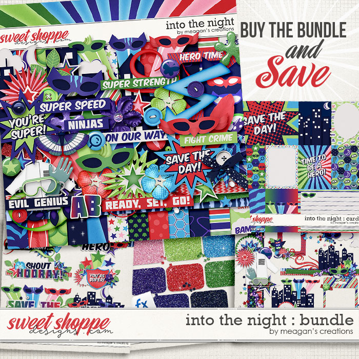 Into the Night : Bundle by Meagan's Creations