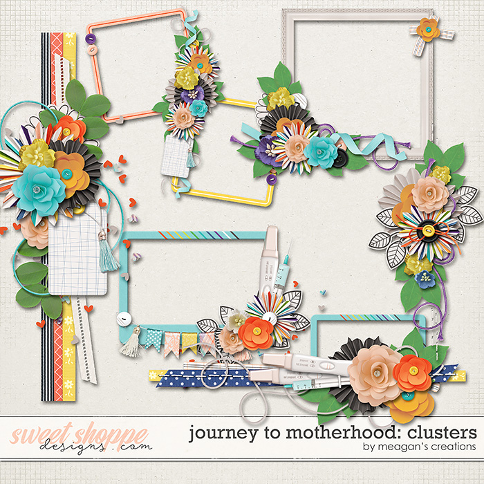 Journey to Motherhood: Clusters by Meagan's Creations