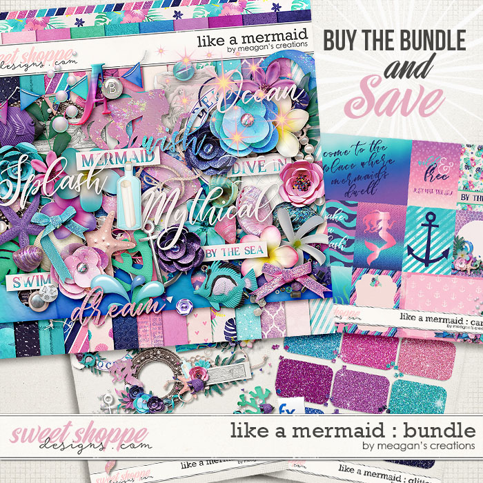 Like a Mermaid : Bundle by Meagan's Creations