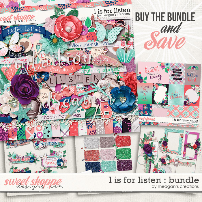 L is for Listen Collection Bundle by Meagan's Creations
