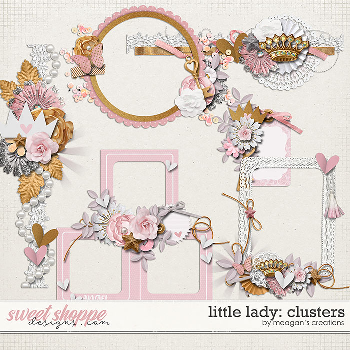 Little Lady: Clusters by Meagan's Creations