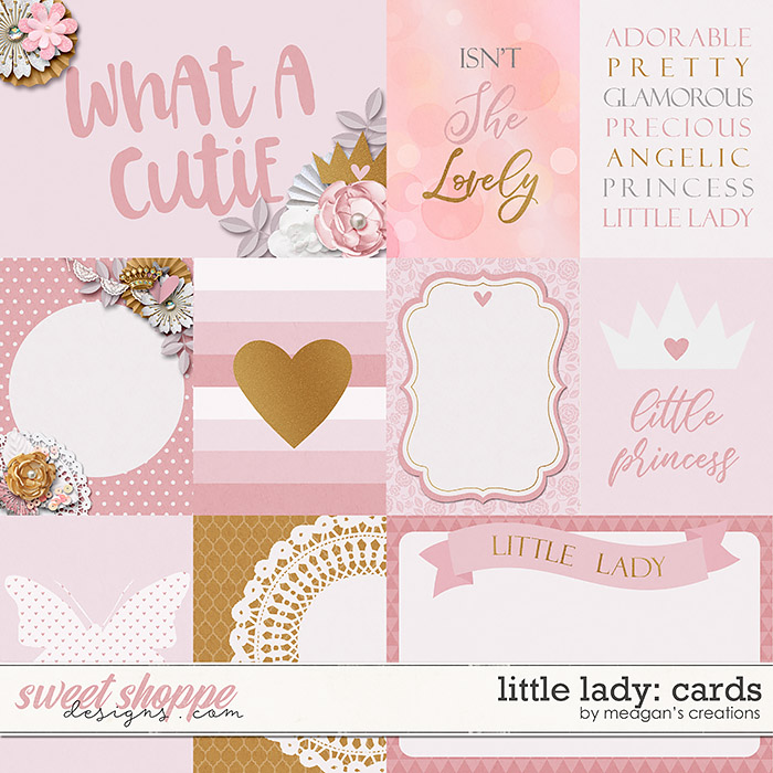 Little Lady: Cards by Meagan's Creations