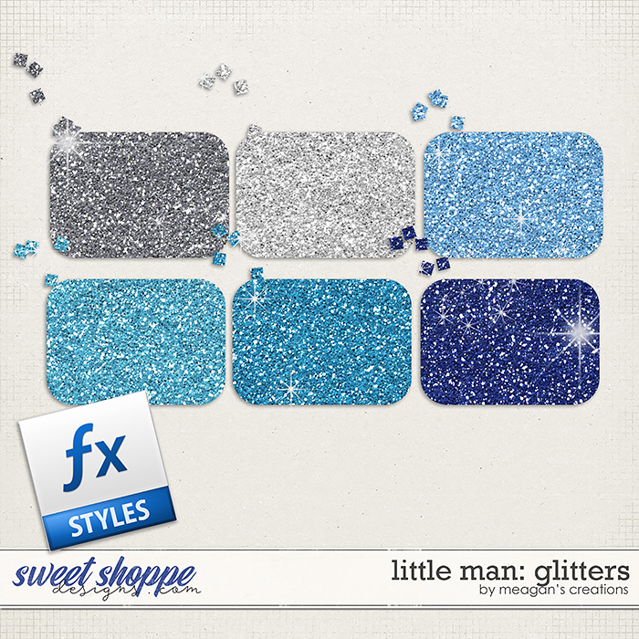 Little Man: Glitters by Meagan's Creations