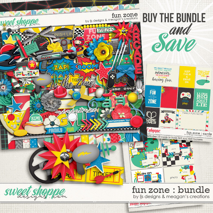 Fun Zone : Bundle by LJS Designs & Meagan's Creations