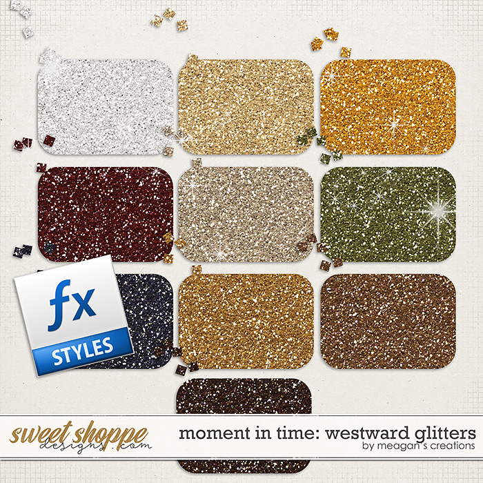 Moment in Time: Westward Glitters by Meagan's Creations