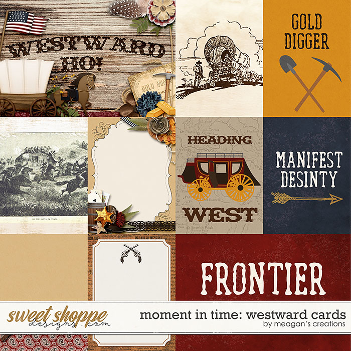 Moment in Time: Westward Cards by Meagan's Creations