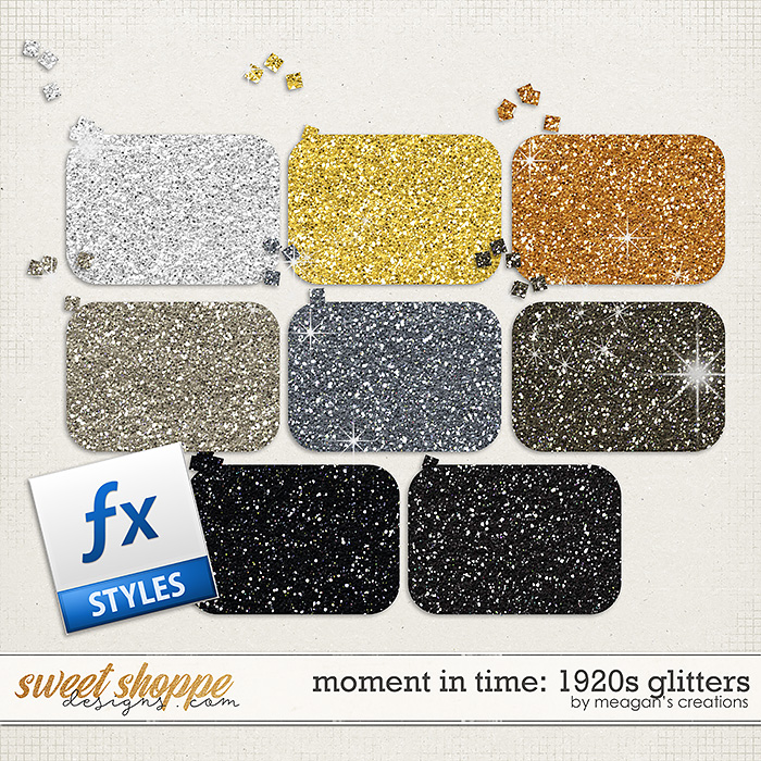 Moment in Time: 1920s Glitters by Meagan's Creations