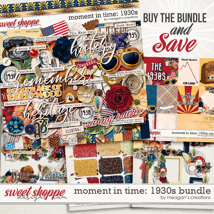 Moment in Time: 1930s Bundle by Meagan's Creations