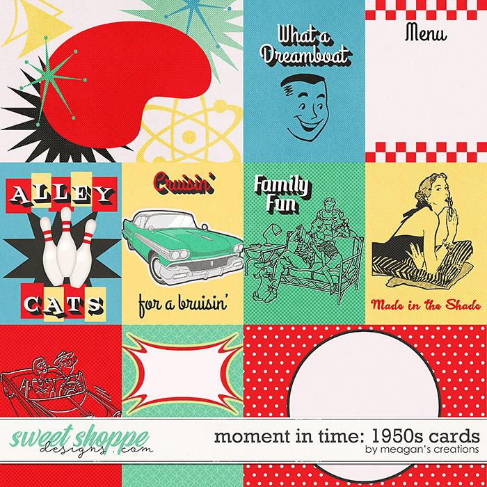 Moment in Time: 1950s Cards by Meagan's Creations