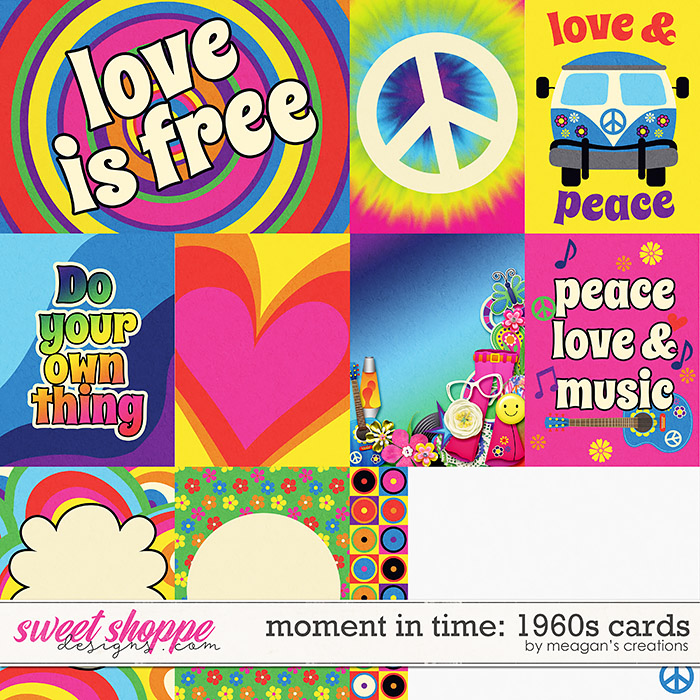 Moment in Time: 1960s Cards by Meagan's Creations