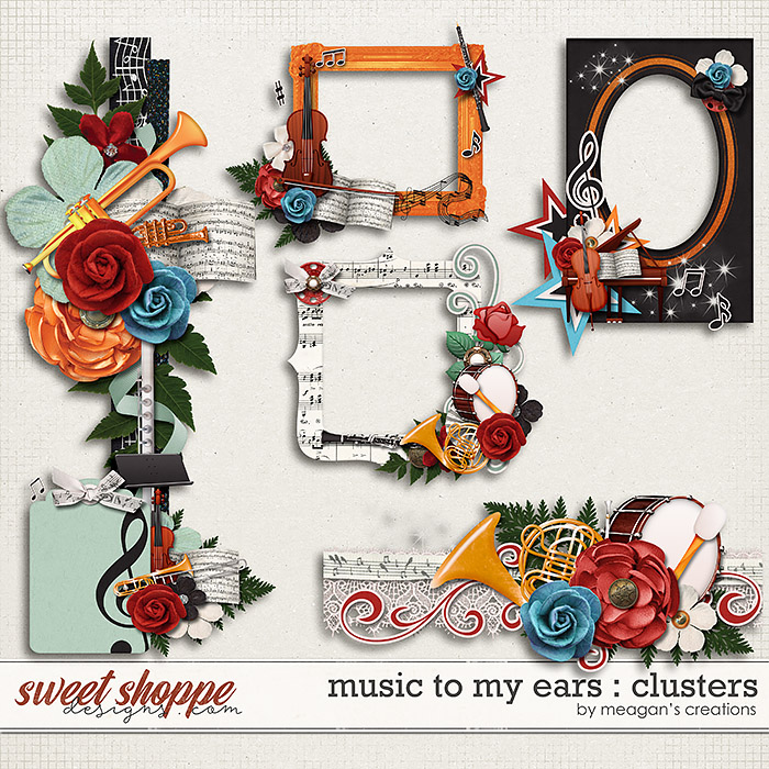 Music to My Ears: Clusters by Meagan's Creations