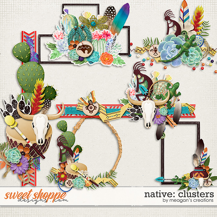 Native: Clusters by Meagan's Creations