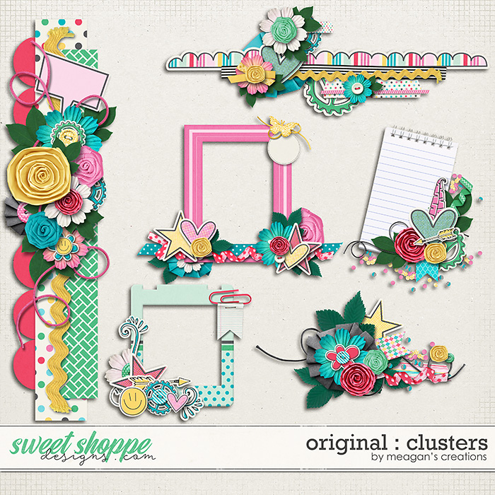Original : Clusters by Meagan's Creations