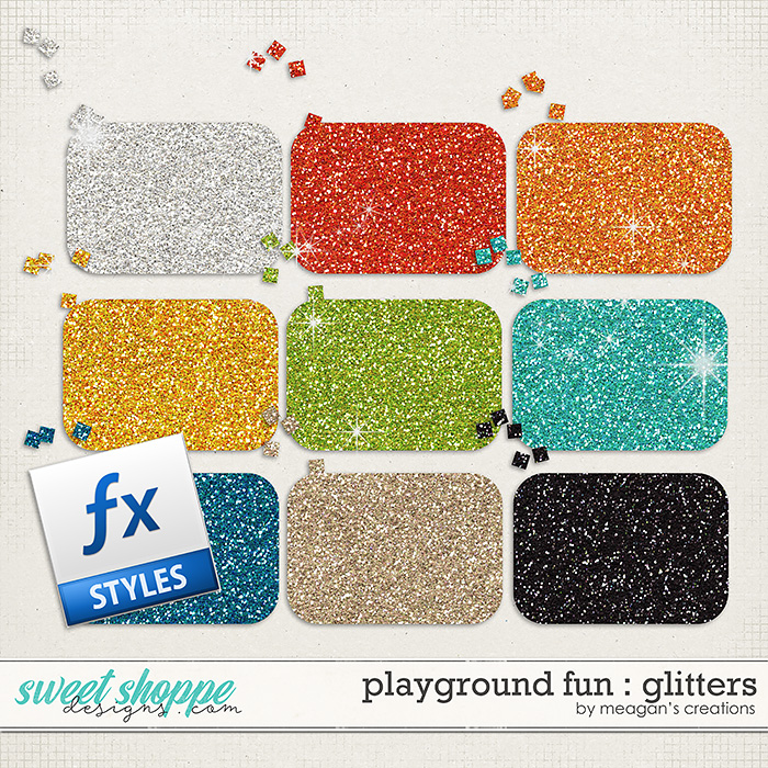 Playground Fun: Glitters by Meagan's Creations