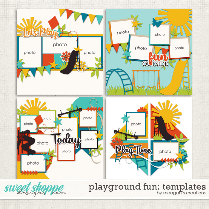 Playground Fun: Templates by Meagan's Creations