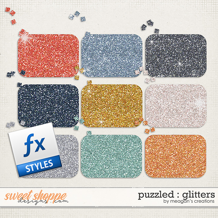 Puzzled : Glitters by Meagan's Creations