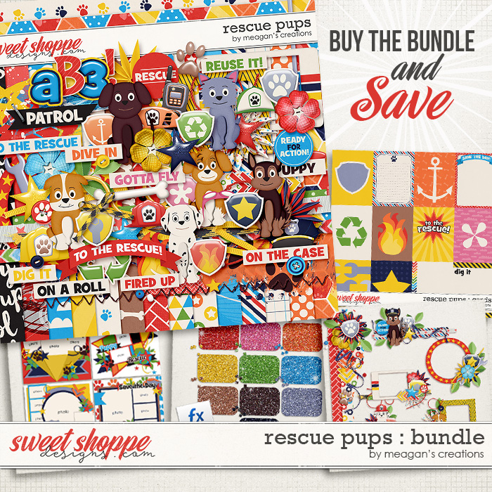 Rescue Pups: Bundle by Meagan's Creations