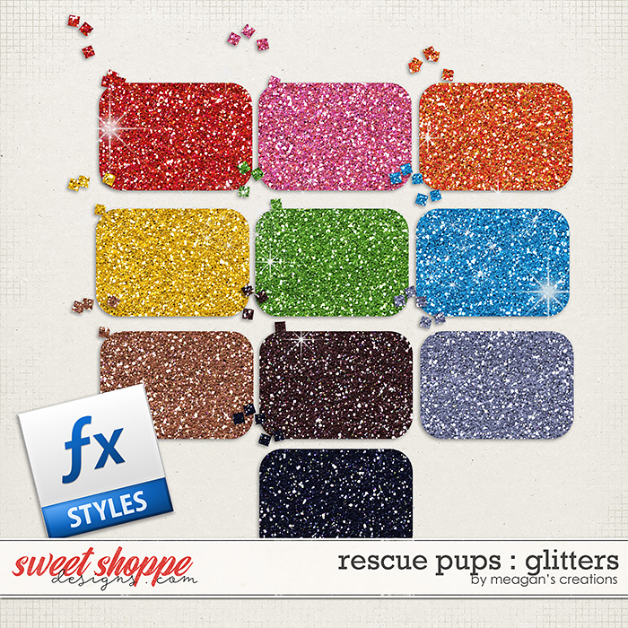 Rescue Pups : Glitters by Meagan's Creations