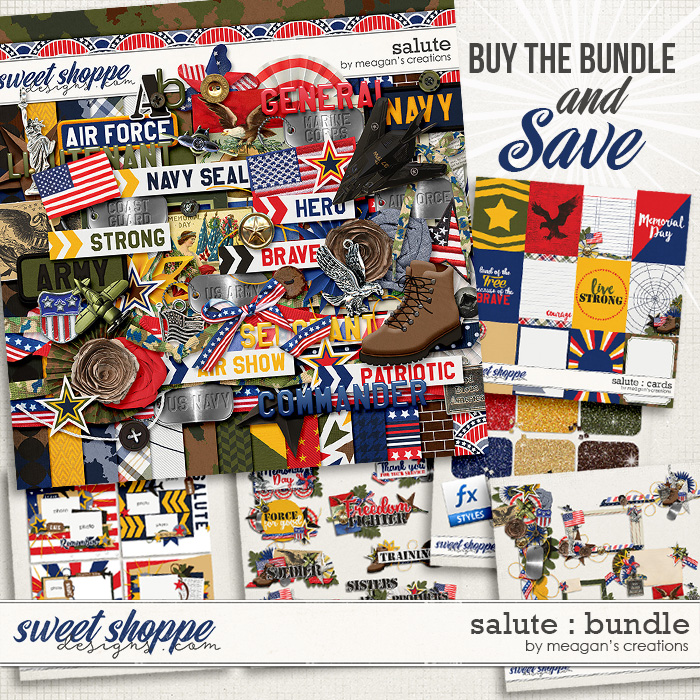 Salute : Bundle by Meagan's Creations