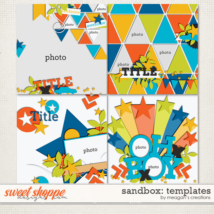Sandbox : Templates by Meagan's Creations