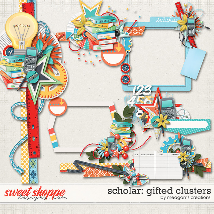 Scholar: Gifted Clusters by Meagan's Creations
