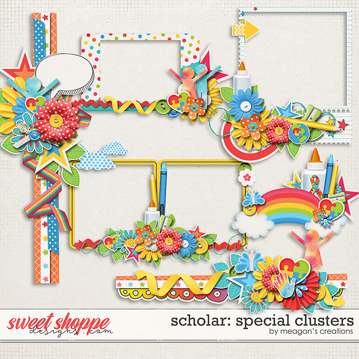 Scholar: Special Clusters by Meagan's Creations