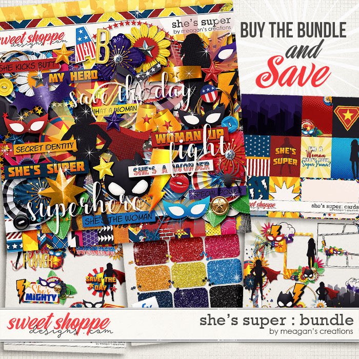 She's Super: Collection Bundle by Meagan's Creations