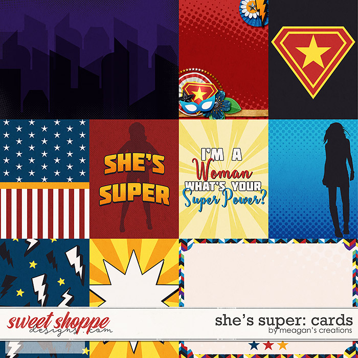 She's Super: Cards by Meagan's Creations