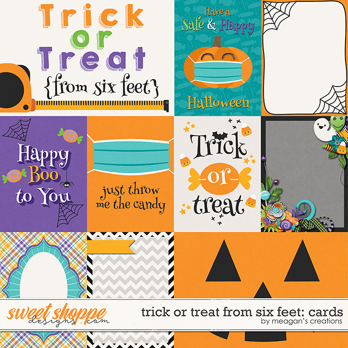 Trick or Treat From Six Feet: Cards by Meagan's Creations