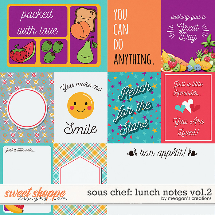 Sous Chef: Lunch Notes Vol. 2 by Meagan's Creations