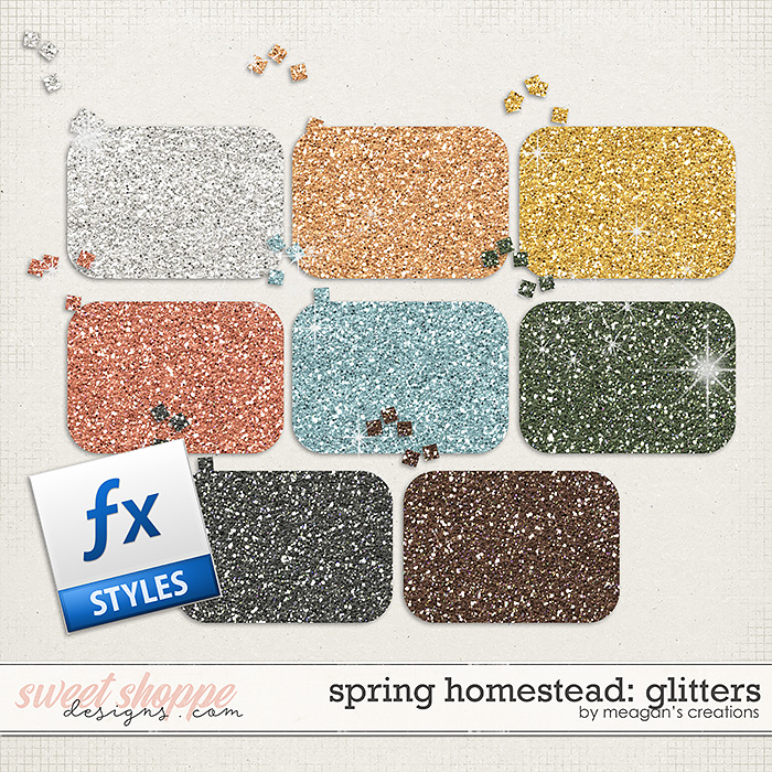 Spring Homestead: Glitters by Meagan's Creations