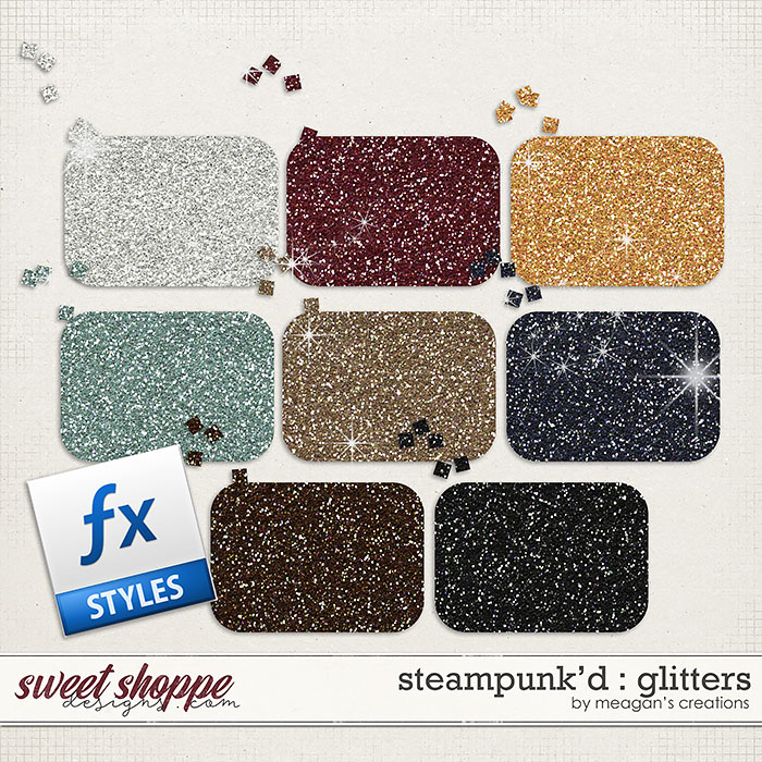 Steampunk'd : Glitters by Meagan's Creations