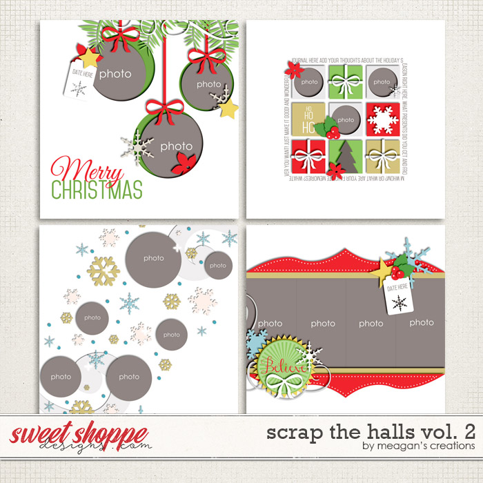 Scrap the Halls Vol. 2 by Meagan's Creations