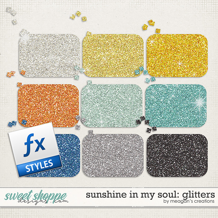 Sunshine in My Soul: Glitters by Meagan's Creations