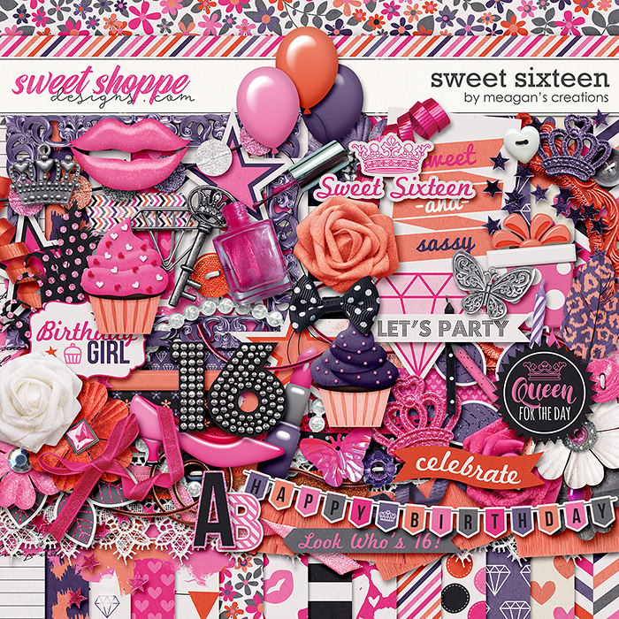 Sweet Sixteen by Meagan's Creations