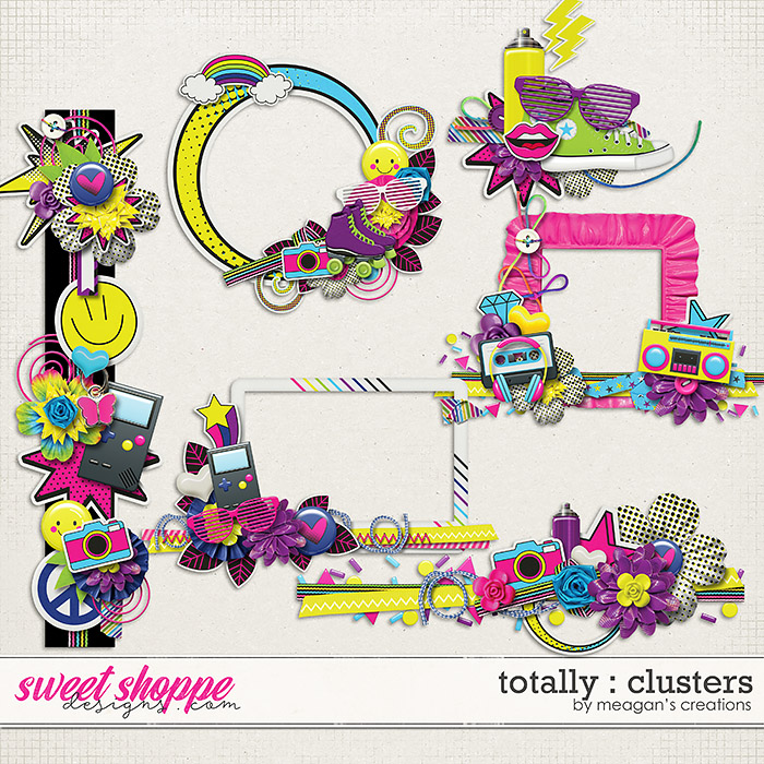 Totally : Clusters by Meagan's Creations