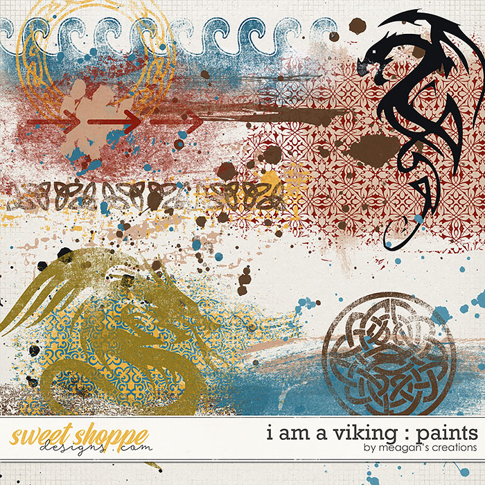 I Am A Viking : Paints by Meagan's Creations