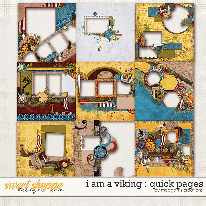 I Am A Viking : Quick Pages by Meagan's Creations