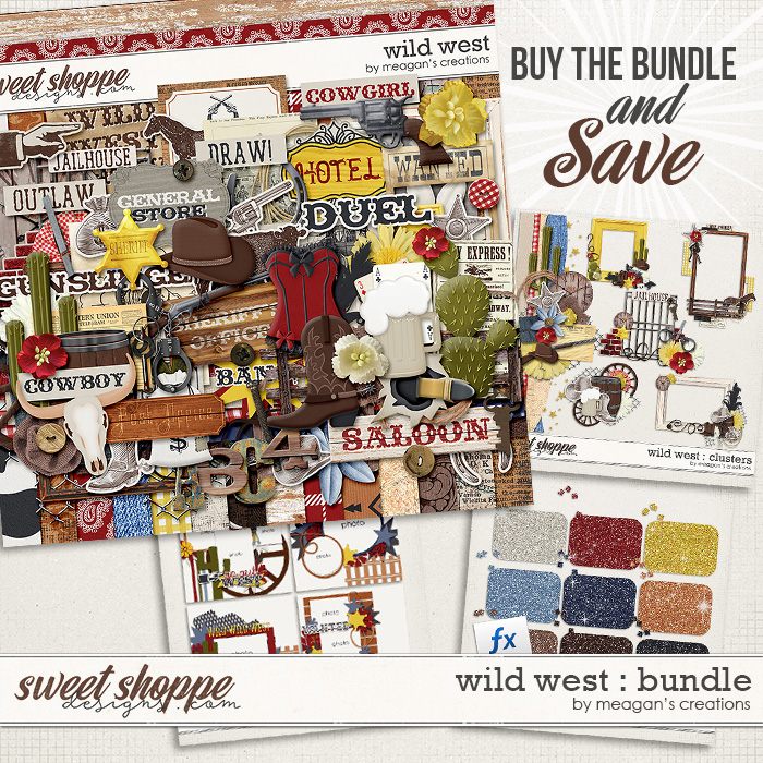 Wild West : Bundle by Meagan's Creations
