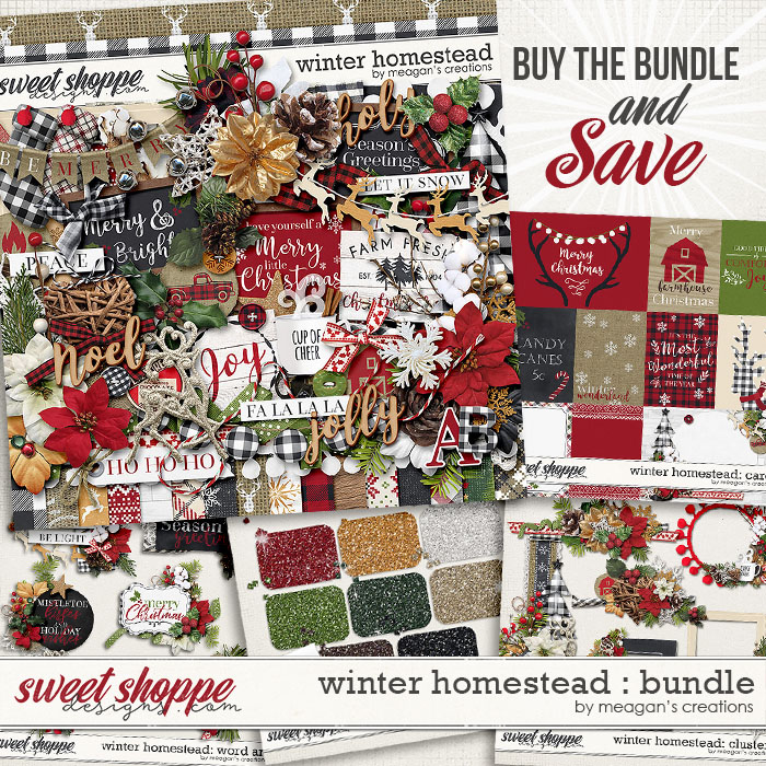 Winter Homestead: Collection Bundle by Meagan's Creations