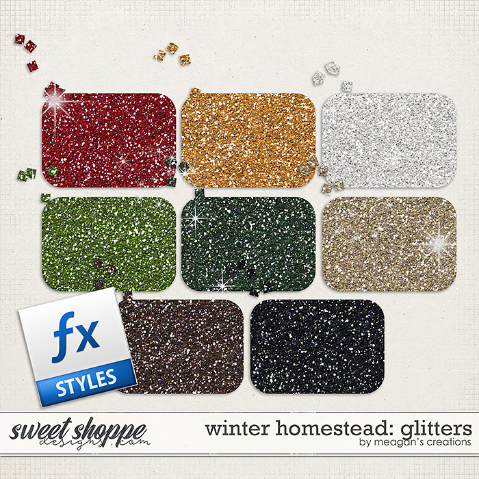 Winter Homestead: Glitters by Meagan's Creations