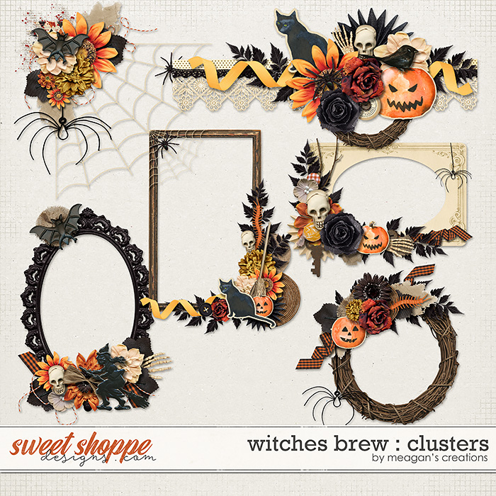 Witches Brew : Clusters by Meagan's Creations