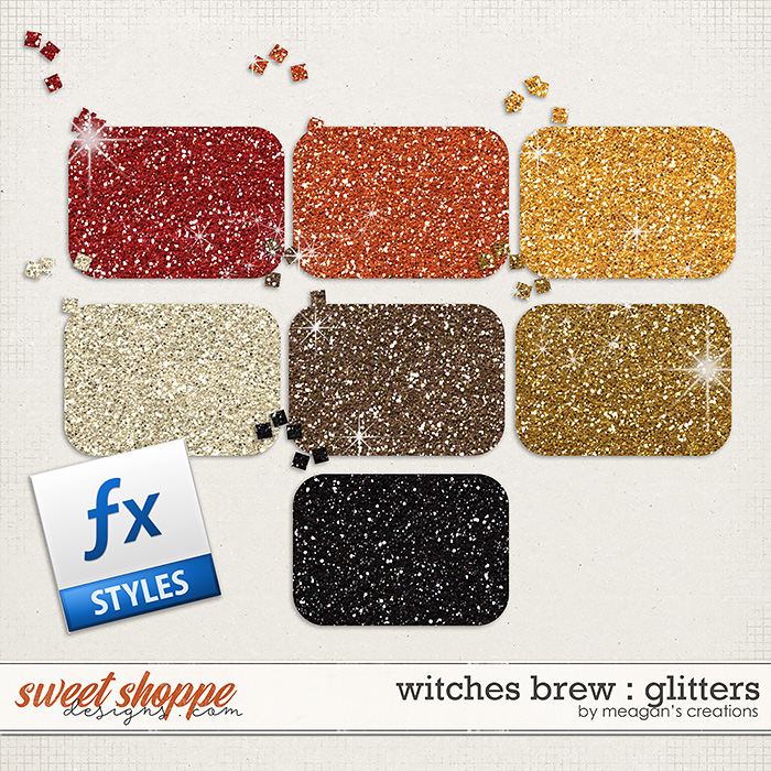 Witches Brew : Glitters by Meagan's Creations