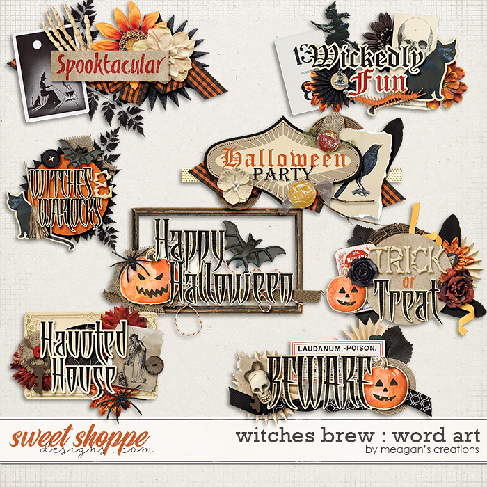 Witches Brew : Word Art by Meagan's Creations