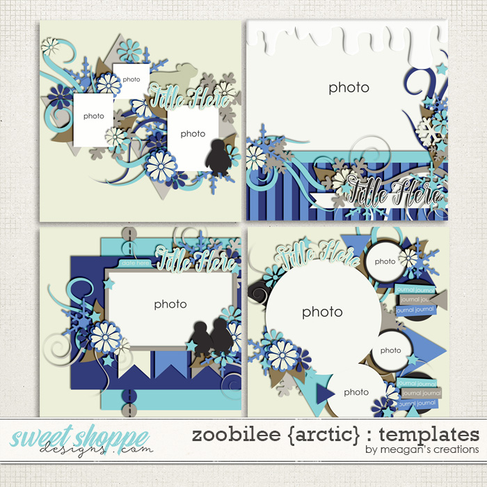 Zoobilee {Arctic} : Templates by Meagan's Creations