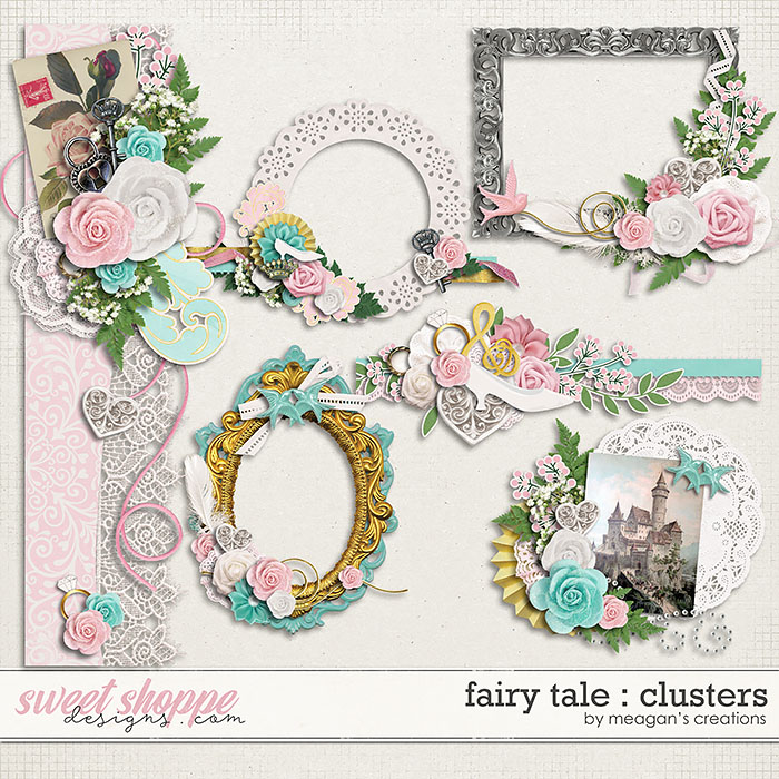 Fairy Tale : Clusters by Meagan's Creations