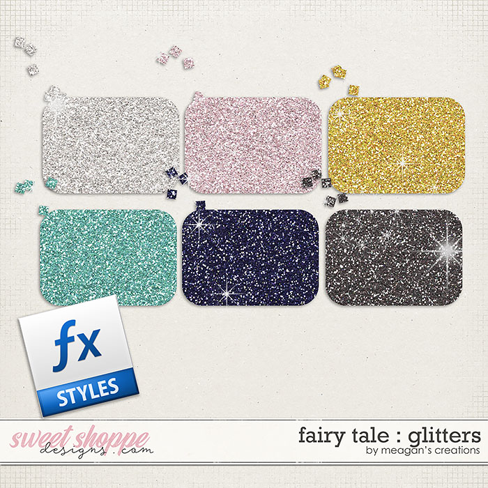 Fairy Tale : Glitters by Meagan's Creations