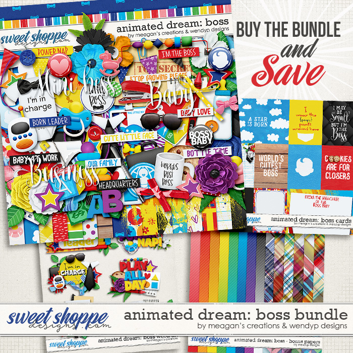 Animated Dream: Boss - Bundle by Meagan's Creations & WendyP Designs